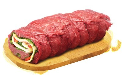 PLATINUM GRILL ANGUS INSIDE ROUND PINWHEELS, ALOUETTES OR STUFFED CUTLETS