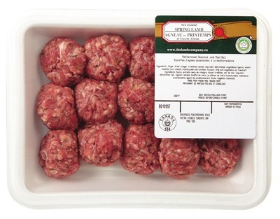 NEW ZEALAND FRESH LAMB MEATBALLS