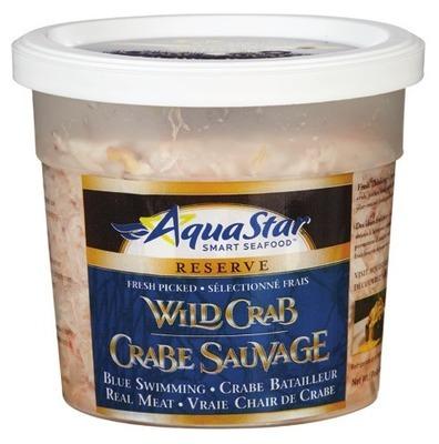 AQUA STAR PASTEURIZED WILD CRAB MEAT