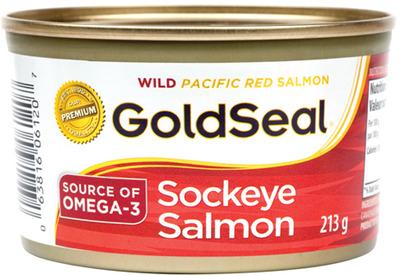 CLOVER LEAF OR GOLDSEAL SOCKEYE SALMON