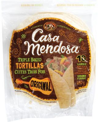"CASA MENDOSA 10"" TORTILLAS"