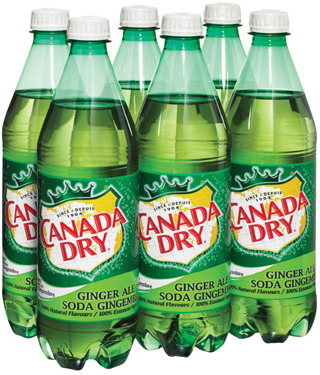 COCA-COLA OR CANADA DRY SOFT DRINKS