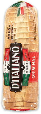 D'Italiano Bread or Buns, Dempster's 100% Whole Wheat Bread or Bagels