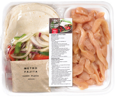 FRESH CHICKEN BREAST FAJITA KIT