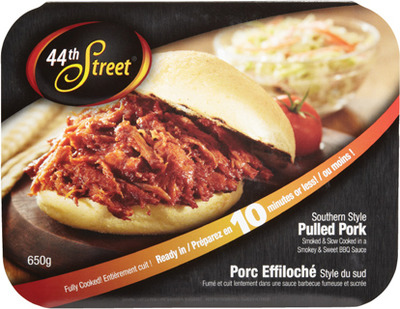 44TH STREET PULLED PORK OR TURKEY BREAST