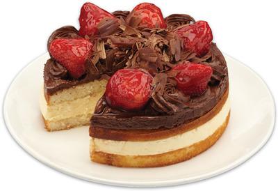 FRONT STREET BAKERY CHOCOLATE BOSTON CUSTARD CAKE