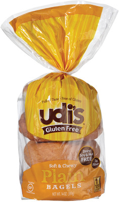 UDI'S GLUTEN FREE BREADS OR BAGELS