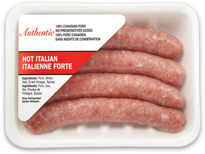 AUTHENTIC ITALIAN SAUSAGES