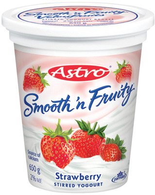 ASTRO YOGURT TUBS