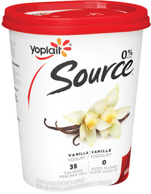 YOPLAIT SOURCE YOGURT, MINIGO OR TUBES
