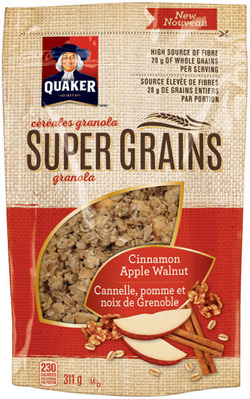 QUAKER SUPER GRAINS CEREAL