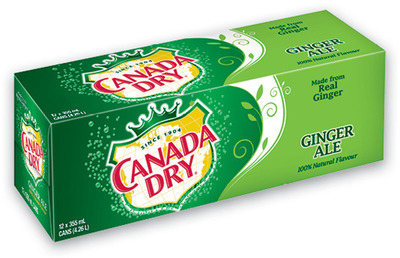 CANADA DRY SOFT DRINKS
