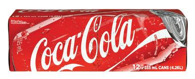 COCA-COLA, PEPSI OR CANADA DRY SOFT DRINKS