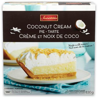 Irresistibles Cream Pie