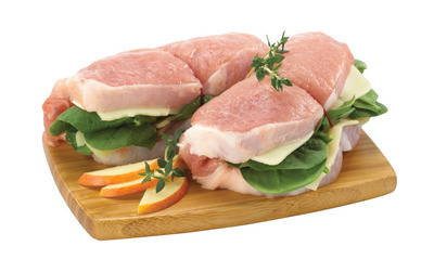 BONELESS PORK LOIN ROAST, CHOPS OR PINWHEELS