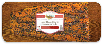 CEDAR BAY CEDAR PLANKED ATLANTIC SALMON