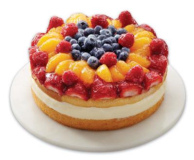 FRONT STREET BAKERY FANCY FRUIT BOSTON CUSTARD CAKE