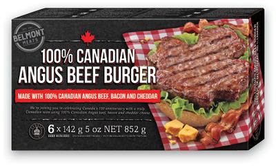 BELMONT Angus Beef Burgers