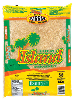 DAINTY SUPER PATNA OR ISLAND RICE