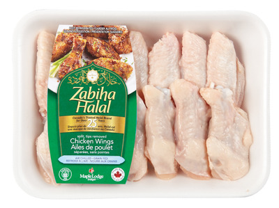 MAPLE LODGE ZABIHA HALAL SPLIT WINGS