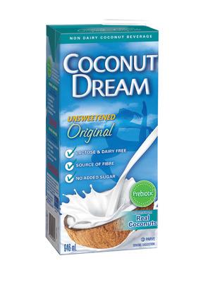 COCONUT DREAM OR ALMOND DREAM PROBIOTIC BEVERAGE