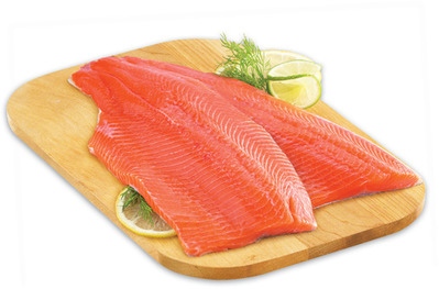 Fresh Tilapia or Rainbow Trout Fillets Haddock Fillets 900 g or 1.77/100 g