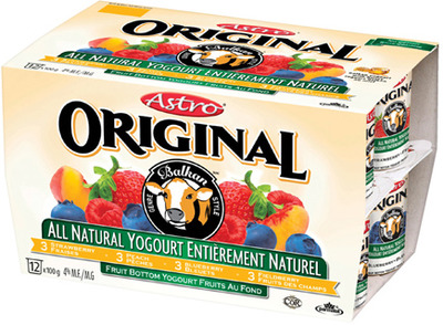 ASTRO OR ACTIVIA YOGURT 12 X 100 g, 4 X 100 g, 2 X 150 g or 650 g OR GENERAL MILLS, KELLOGG'S OR QUAKER CEREAL 285 - 625 g