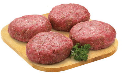 RED GRILL LEAN GROUND BEEF CHUCK BURGERS
