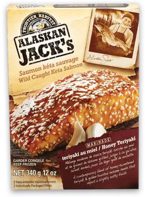 ALASKAN JACK'S MARINATED KETA SALMON