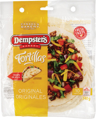 DEMPSTER'S TORTILLAS 272 - 340 g or IRRESISTIBLES ITALIAN STYLE BREAD 675 g OR 2.99 EA.