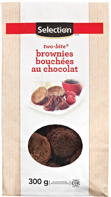 SELECTION TWO-BITE BROWNIES, MINI CUPCAKES OR MINI ROLLS