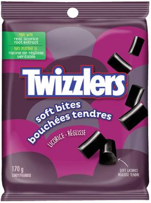HERSHEY'S TWIZZLERS SOFT BITES LICORICE