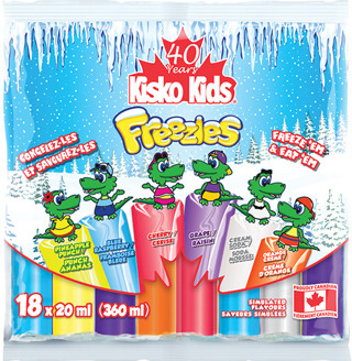 KISKO-KIDS FREEZIE ICE POPS