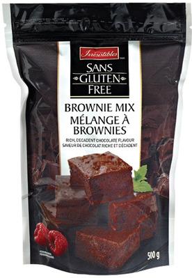 IRRESISTIBLES GLUTEN FREE BROWNIE MIX
