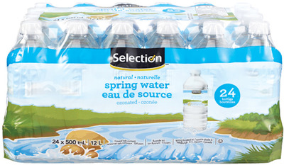 SELECTION NATURAL SPRING WATER