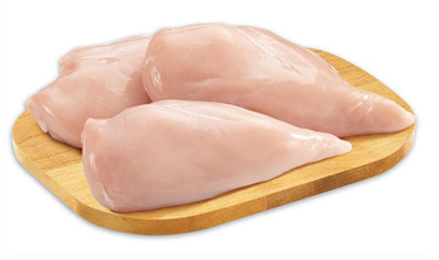 Fresh Boneless Skinless Chicken Breast Fillet Removed Value Pack