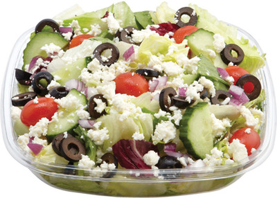 SMALL SIZE SALADS GREEK OR CAESAR OR SIMPLY GARDEN