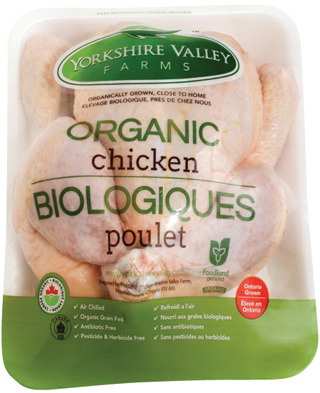 YORKSHIRE VALLEY FARMS FRESH ORGANIC WHOLE CHICKEN