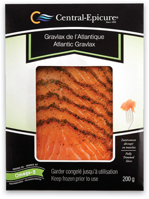 EPICURE SMOKED ATLANTIC SALMON OR GRAVLAX