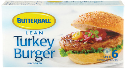 BUTTERBALL TURKEY BURGER