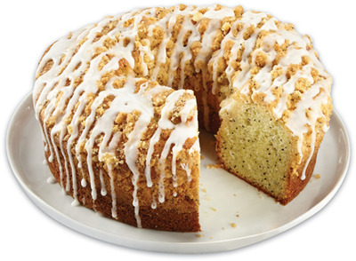 IRRESISTIBLES LEMON POPPYSEED COFFEE CAKE