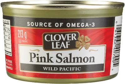 CLOVER LEAF OR GOLDSEAL PINK SALMON