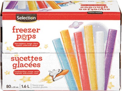 SELECTION ICE POPS