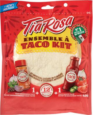 TIA ROSA FAJITA OR TACO KITS