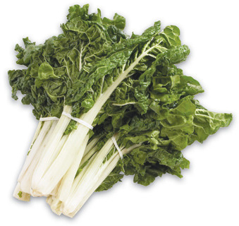 GREEN OR RED SWISS CHARD, GREEN KALE, DANDELION OR COLLARDS
