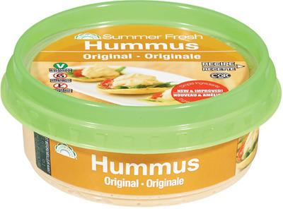 Summer Fresh Hummus Dip