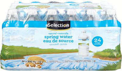 SELECTION NATURAL SPRING WATER