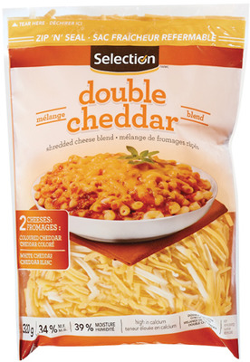 SELECTION SHREDDED CHEESE