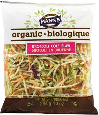 MANN'S ORGANIC BROCCOLI COLE SLAW