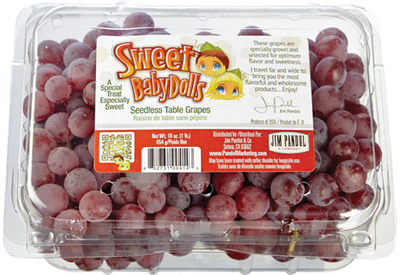 SWEET BABYDOLLS RED GRAPES